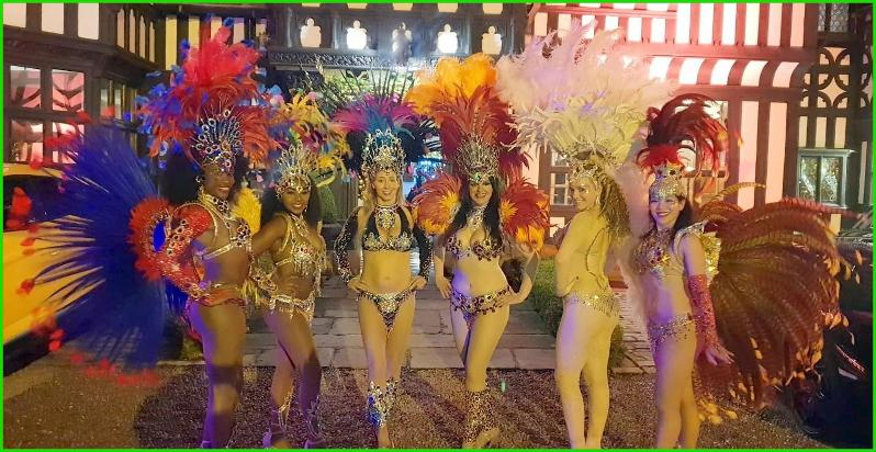 Samba Livre Liverpool Brazilian samba dancers northwest north west samba uk Rio carnival dancers Brazil samba show Brazilian samba Christmas parties entertainers entertainment luxury events showgirls passistas Latin dancers New year events performers performances